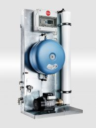 Airtec 300 litre RO plant with pressure vessel (RO INLINE)  300 litres /hr